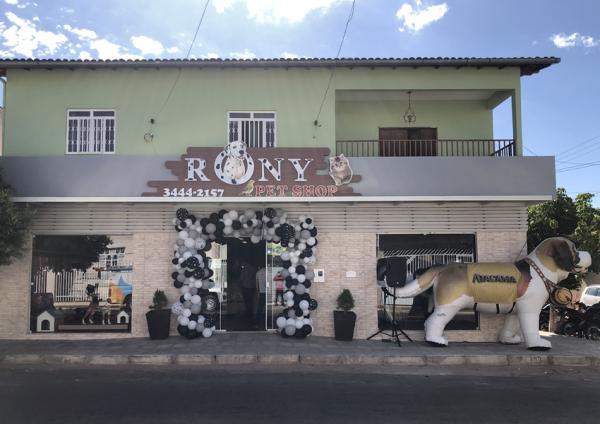 Inauguração Rony Pet Shop