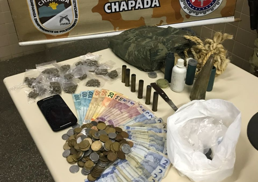 Quadrilha de tráfico e roubo de veículos presa em Mucugê