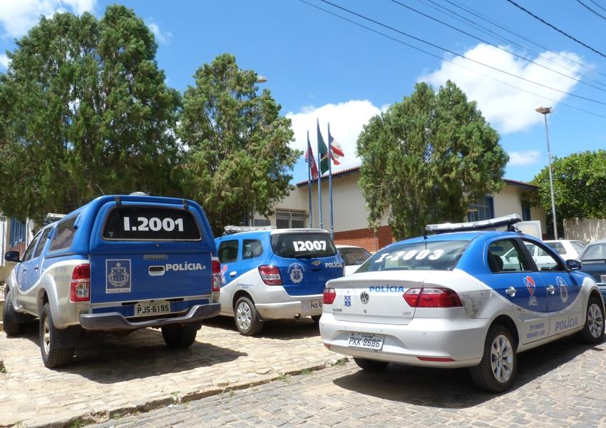 Polícia Civil cumpre mandado de prisão em desfavor de Natalino Alves na sede da 20ª COORPIN em Brumado