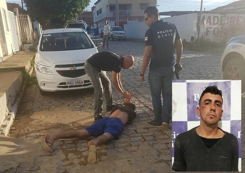 Santa Maria da Vitória: Polícia Civil prende sequestrador de empresário de Brumado