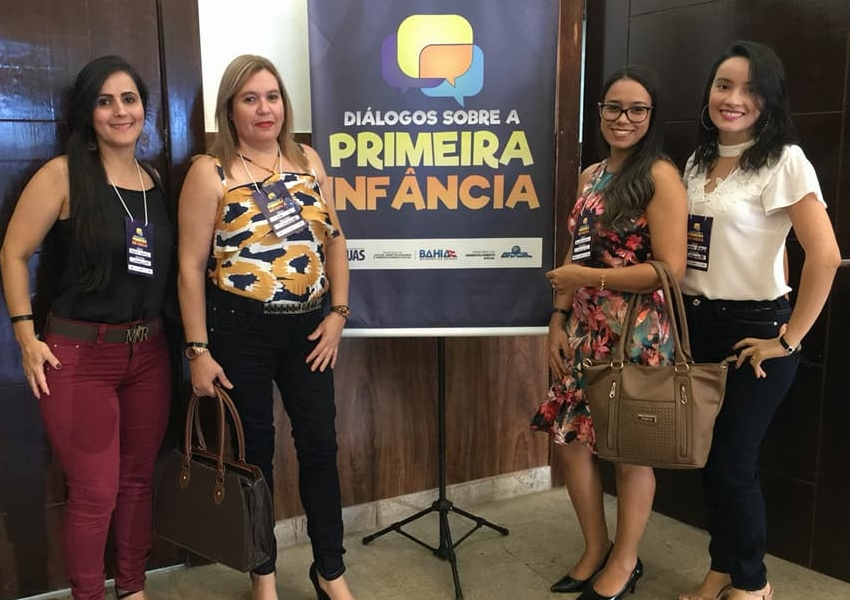 Representantes de Livramento participam de seminário sobre a Primeira Infância em Salvador