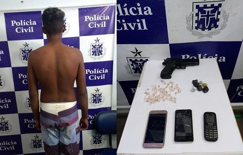 Jovem de 17 anos acusado de assaltar loja no centro de Jequié é apreendido