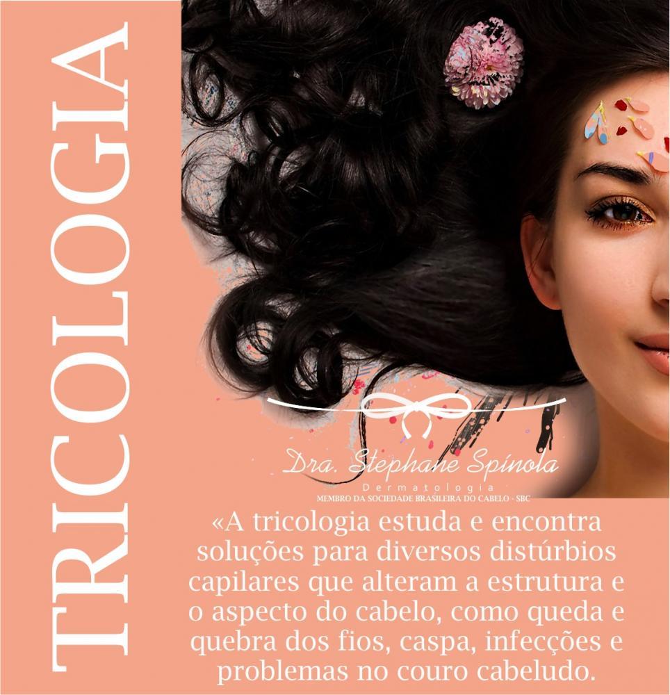 Dicas da Drª  Stephane Spínola: Você sabe o que é tricologia?