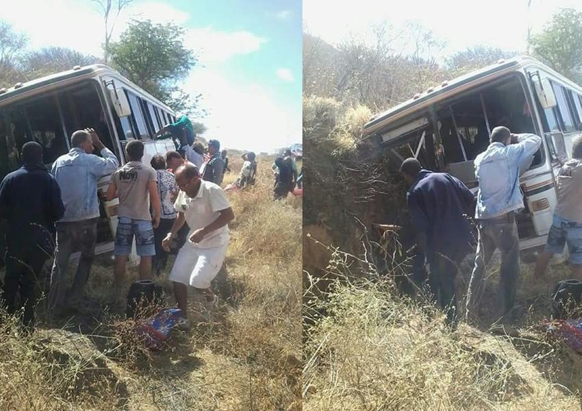 Acidente é registrado com ônibus que levava romeiros de Livramento De Nossa Senhora para Bom Jesus da Lapa