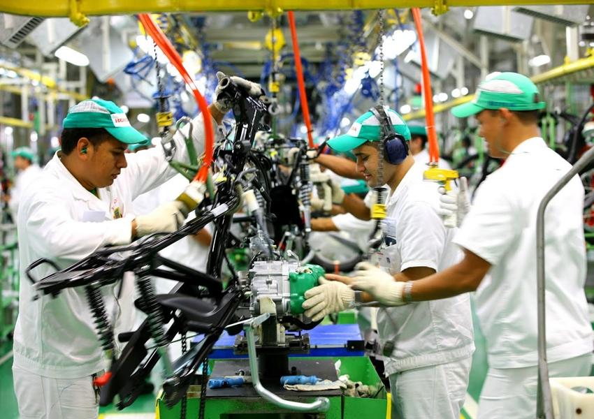 Produção de motos no Brasil cresce 24% em fevereiro