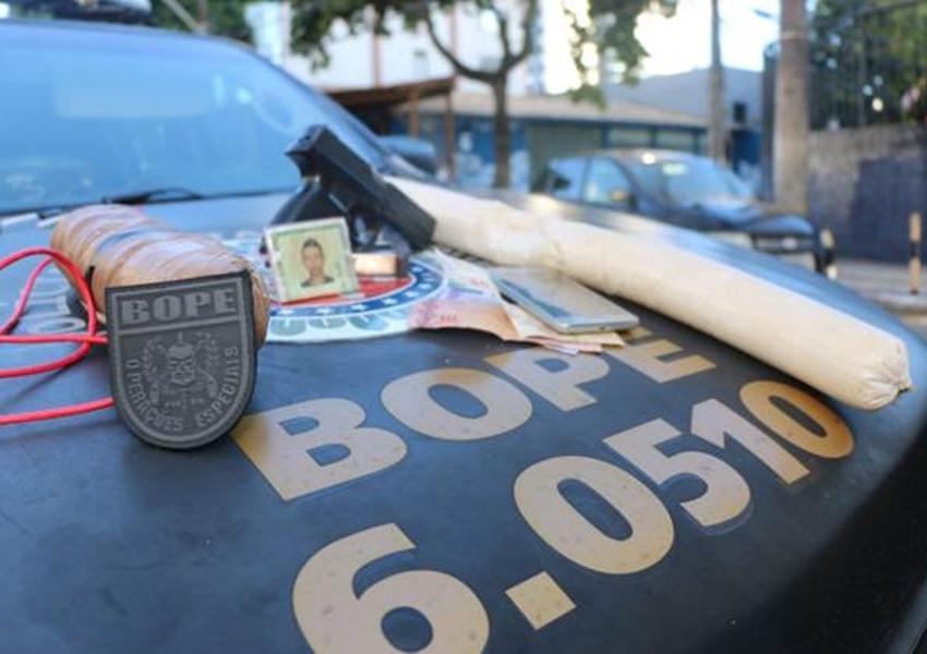 Assaltante de banco morre em confronto com a polícia