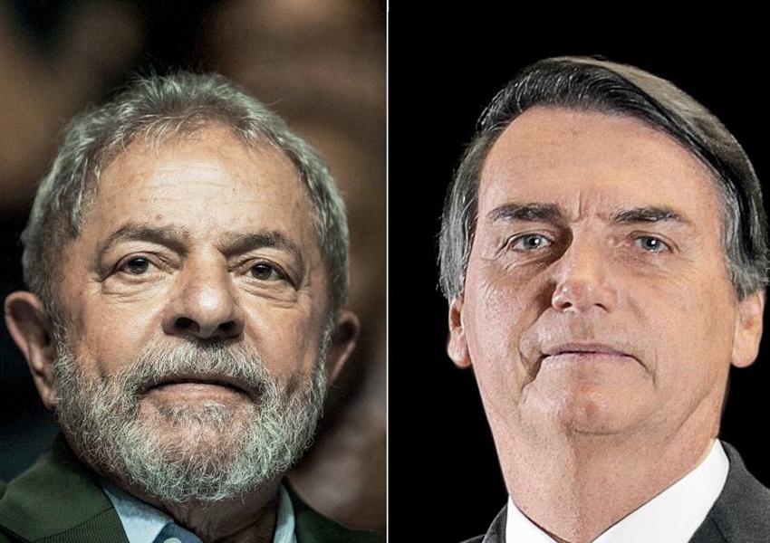 Lula tem 34% e Bolsonaro 17%, diz Datafolha