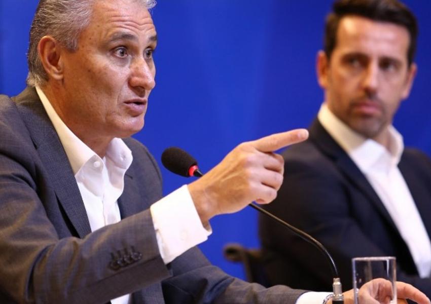 Tite e Edu Gaspar continuam na Seleção até a Copa de 2022