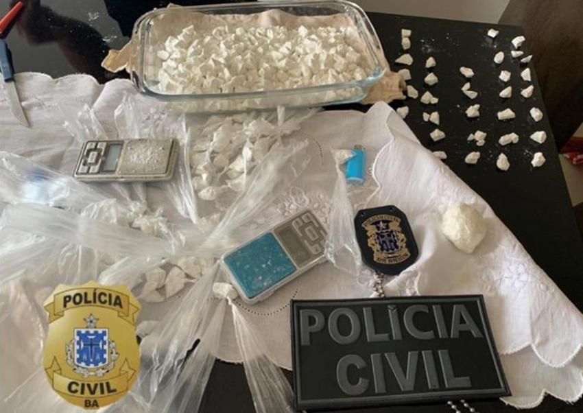 Suspeito de vender cocaína para bairros nobres de Conquista é preso