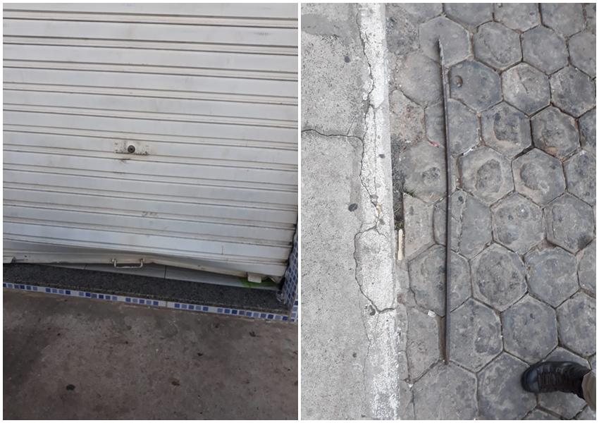 Livramento: Mercadinho é arrombado no Bairro São José