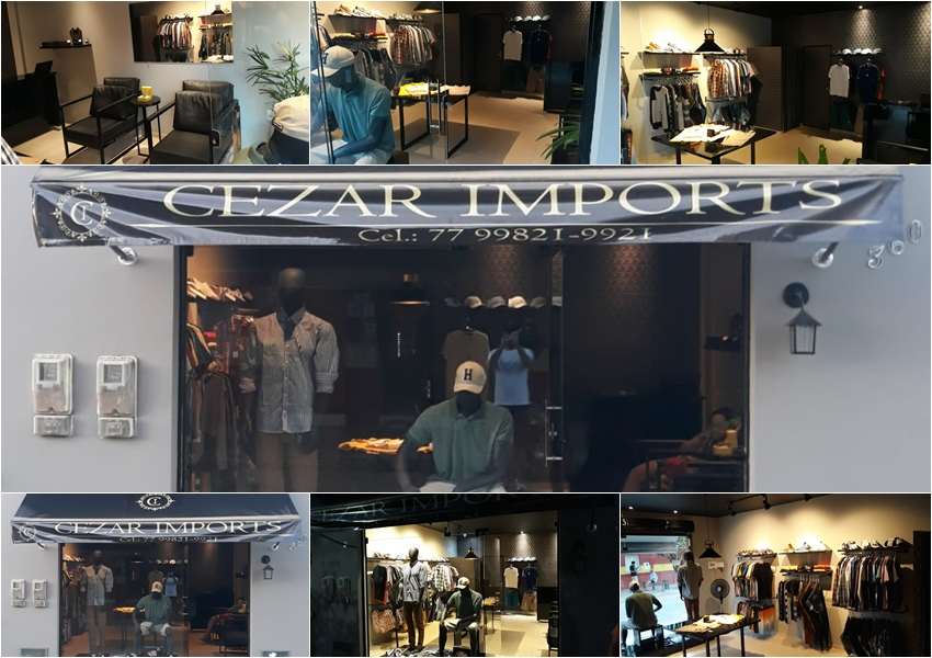 Cezar Imports: Loja conceito em moda masculina é inaugurada em Livramento