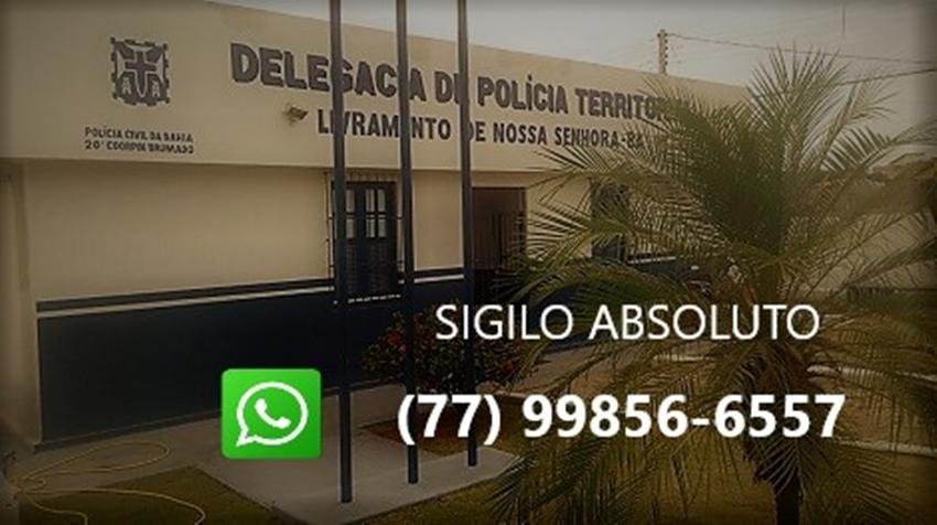 Polícia Civil lança Whatsapp para o disque denúncia em Livramento de Nossa Senhora