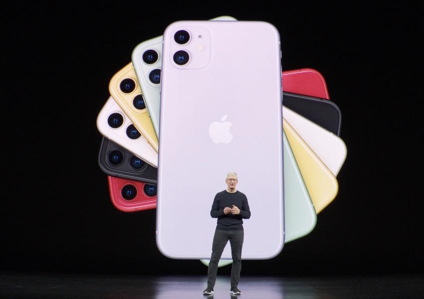Apple apresenta novos modelos do iPhone com câmera dupla e opção de cores