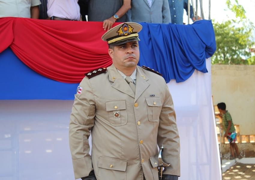 Capitão Vandilson Araújo assume 46ª CIPM em solenidade militar