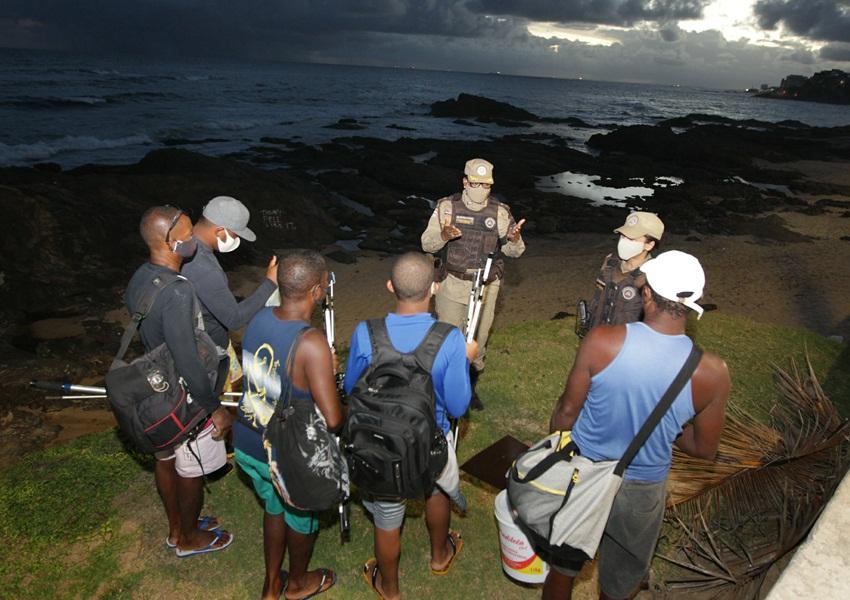 Toque de recolher a partir das 18h entra em vigor na Bahia com apoio da PM