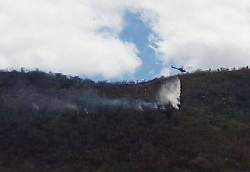 Bombeiros atuam em incêndios florestais na Chapada Diamantina