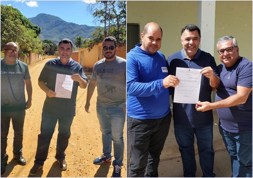 Livramento: Prefeitura entrega ordem de serviço à construtoras para inicio de obras no município