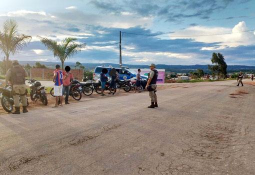 34ª Companhia Independente de Polícia Militar intensifica ações em Barra da Estiva e Ibicoara