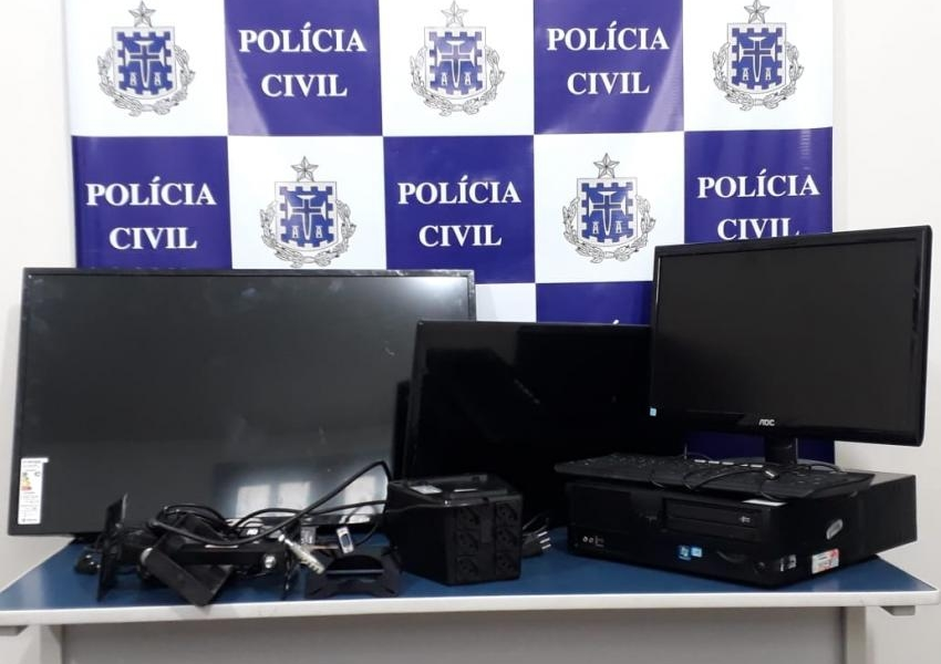Menor é apreendido após arrombar e furtar equipamentos de PSF e Policlínica de Livramento