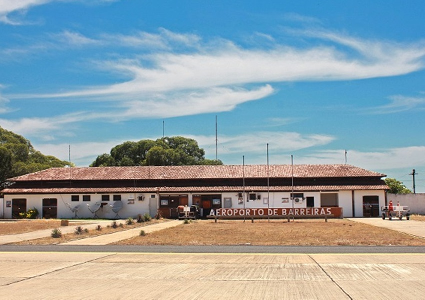 Governo lança licitação para reforma e ampliação do aeroporto de Barreiras