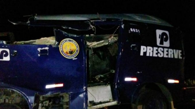 Juazeiro: Quadrilha explode carro-forte na BR-407