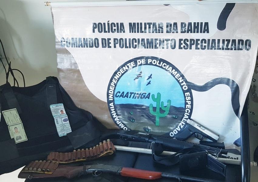 Criminoso que se dizia policial é preso pela Cipe Caatinga