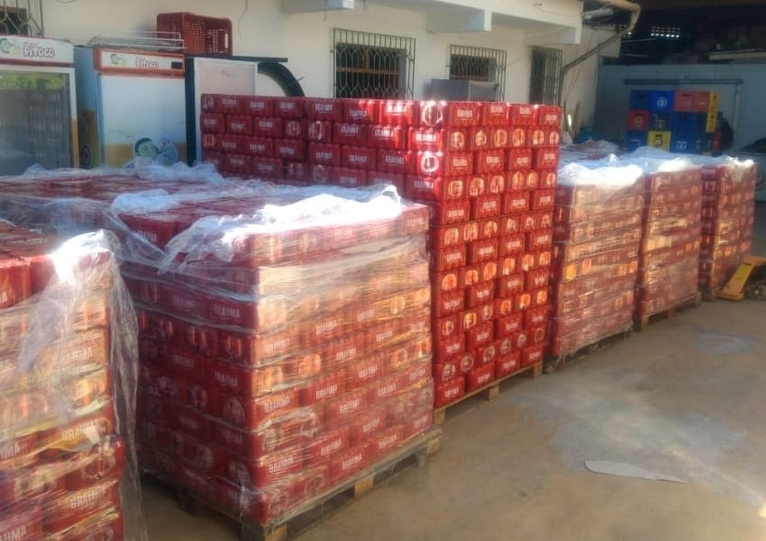 Carga de cerveja avaliada em R$ 200 mil é recuperada