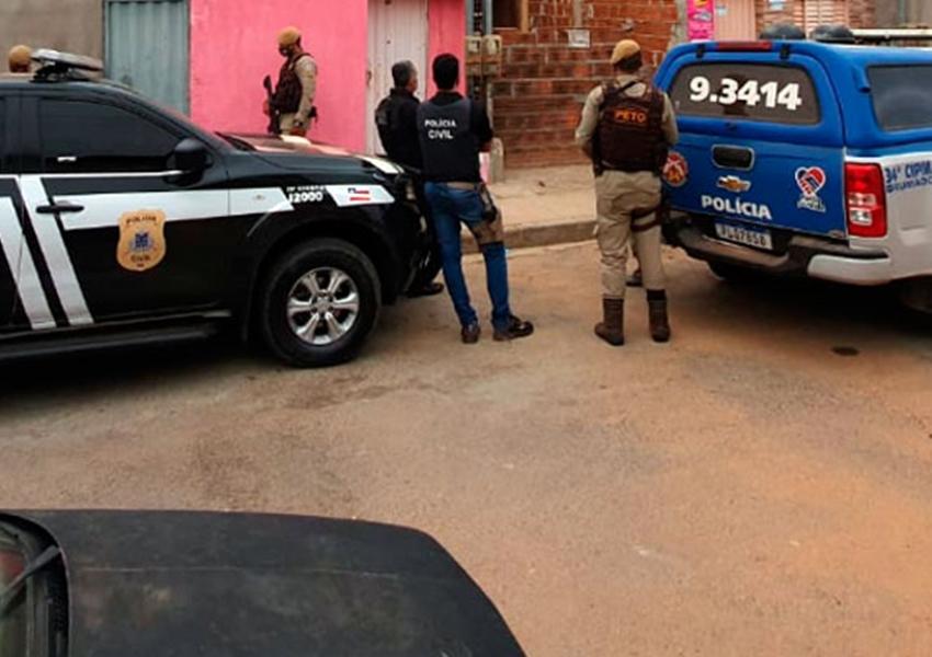 Polícias Civil e Militar realizam 'Operação Apópeira' em Brumado