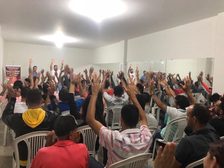 SINDCOM: Trabalhadores autorizam desconto em folha da taxa assistencial e da contribuição sindical