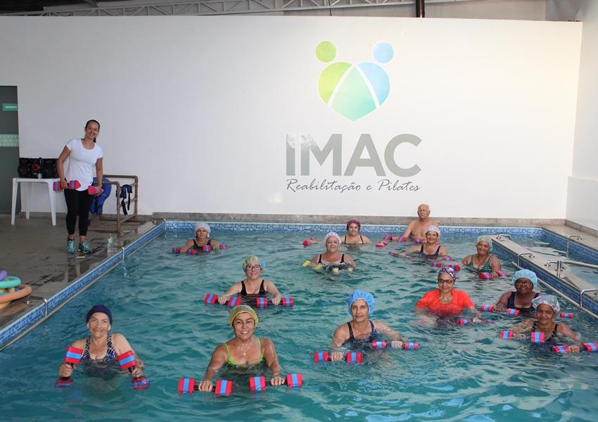Matricule-se na aula de Hidroginástica na Imac Reabilitação e conheça os benefícios