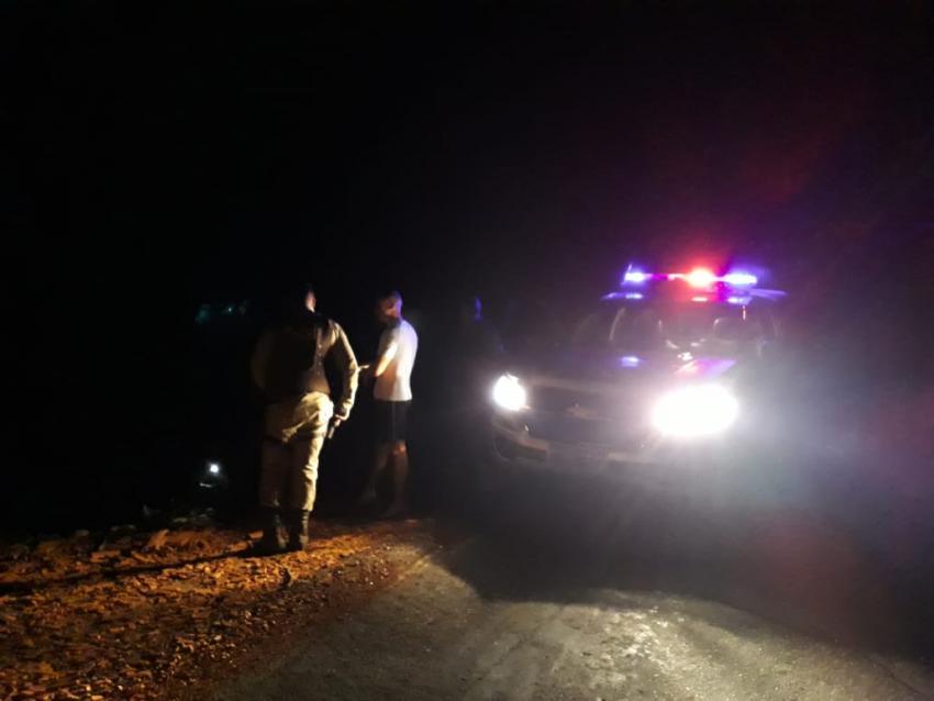 Advogado é socorrido por PMs da 46ª CIPM após sofrer acidente na BA-026