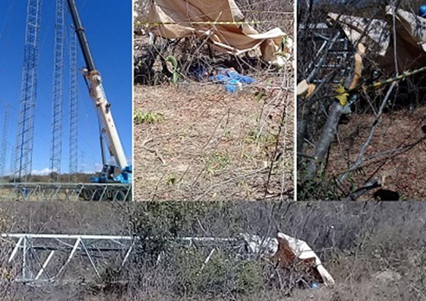 Torre de linha de transmissão cai e mata dois funcionários da Cimy em Caetité