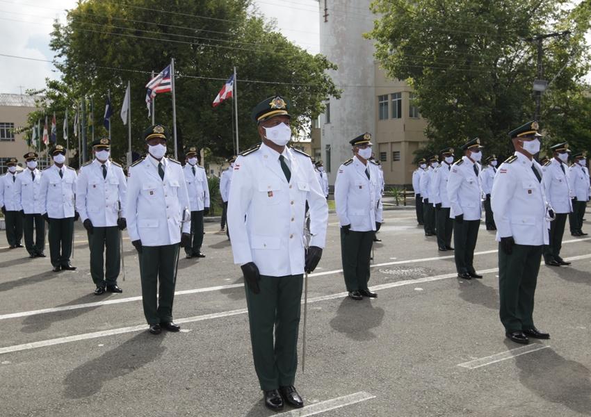 PM forma primeira turma de tenentes auxiliares