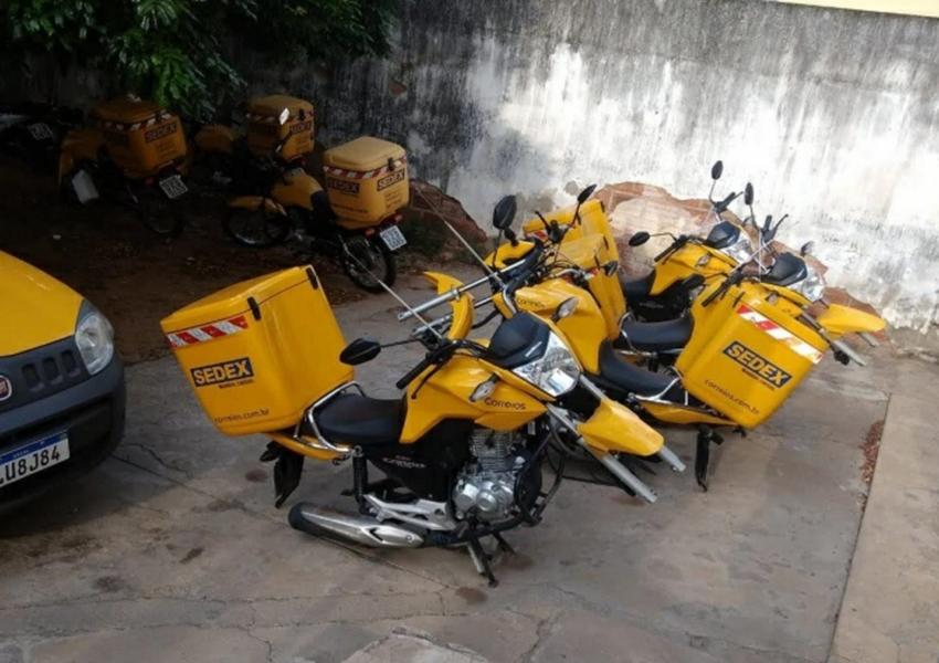 Brumado: Bandidos roubaram rodas de liga leve de motocicletas da unidade dos Correios