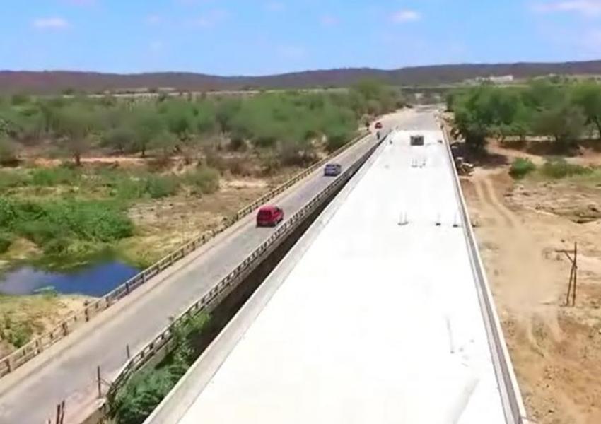 Tanhaçu: Duplicação da Ponte sobre Rio de Contas em Sussuarana é concluída