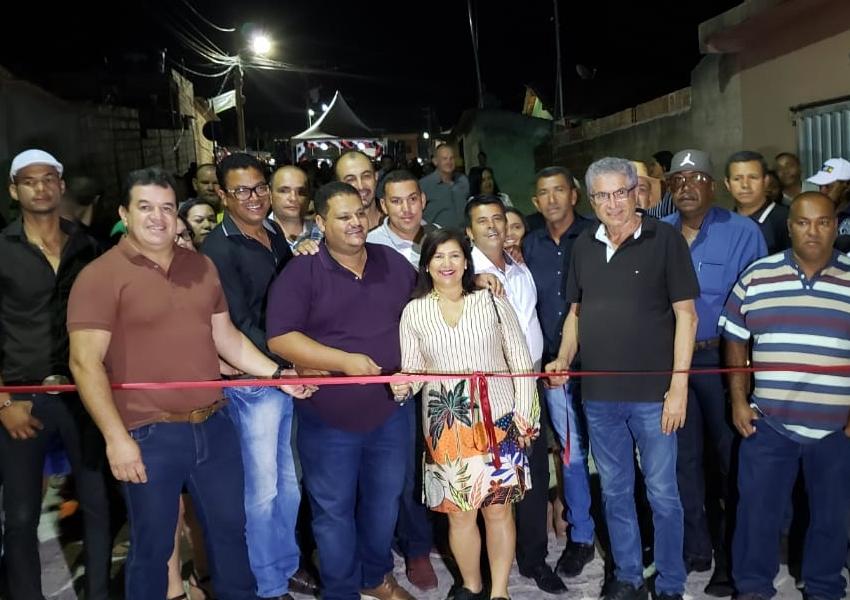 Deputado Marquinho Viana participa de inaugurações em Ibicoara