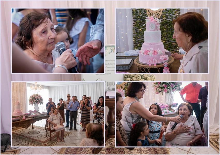 Livramento: Ao invés de presentes, senhora de 90 anos pede doações para Casa do Idoso