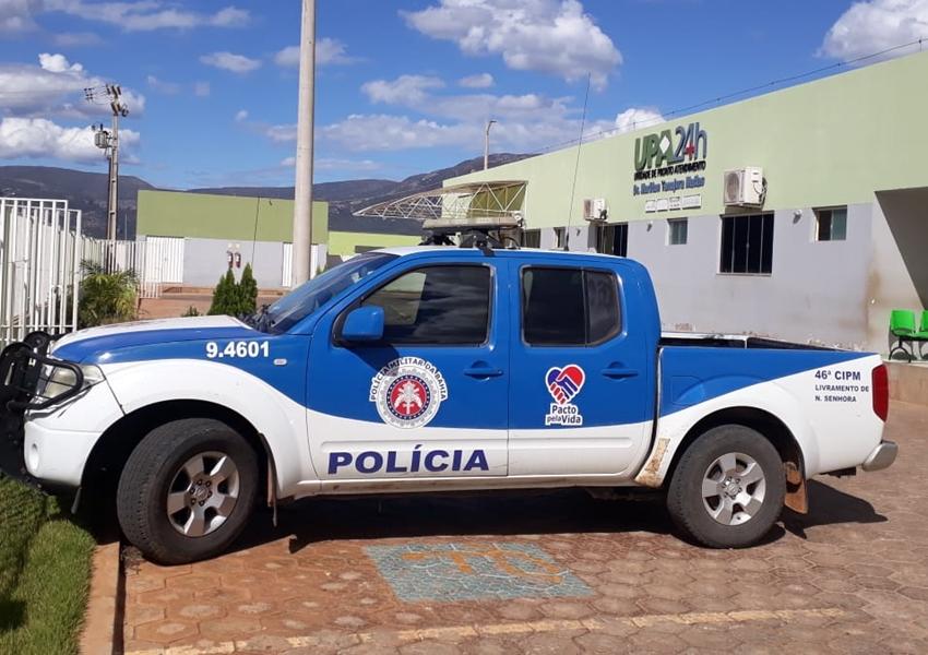 Livramento: Em visível estado de embriaguez alcoólica homem é detido pela Polícia Militar