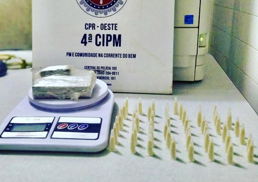 Homem é preso por tráfico de drogas em Macaúbas
