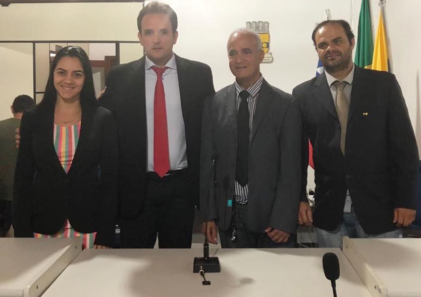Rio de Contas: Luciano Freitas Pierote é reeleito presidente da Câmara de Vereadores para o Biênio 2019/2020