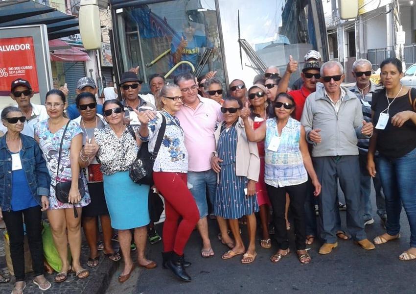 Pacientes de Livramento são atendidos em mutirão de catarata de Salvador