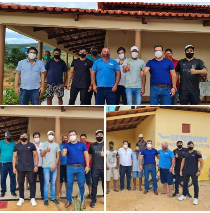 Deputado Marquinho Viana participa de almoço com líderes políticos de Riacho de Santana e Matina