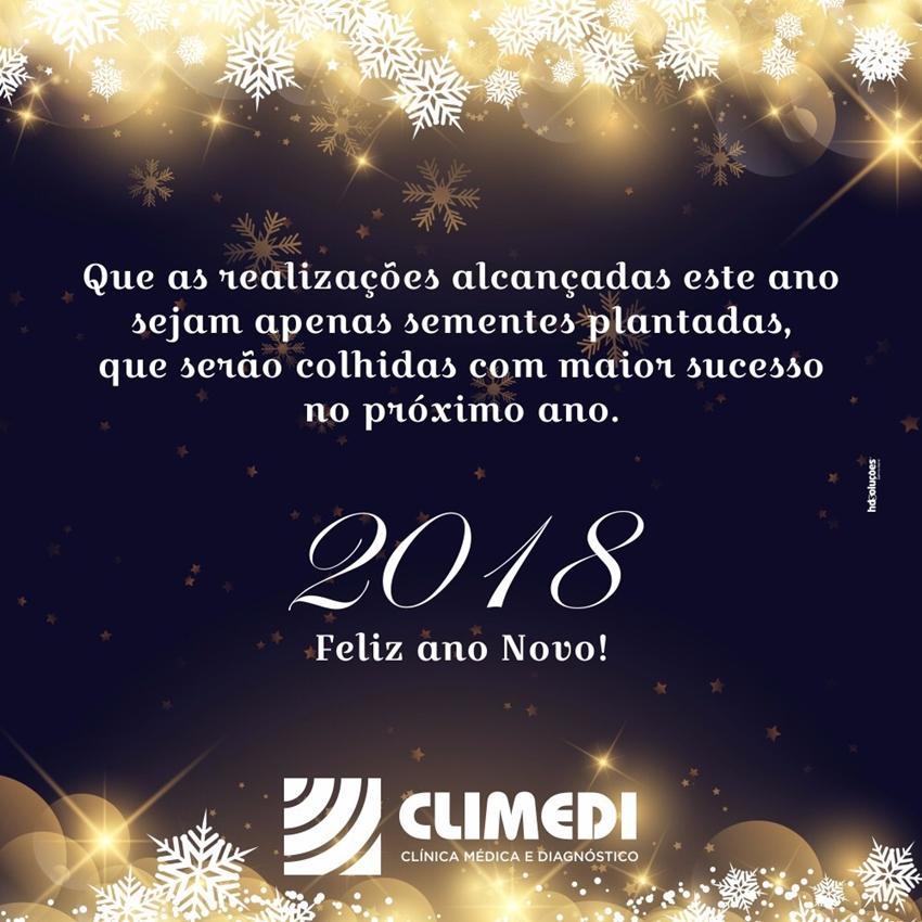 A Climedi deseja a todos um Feliz Ano Novo