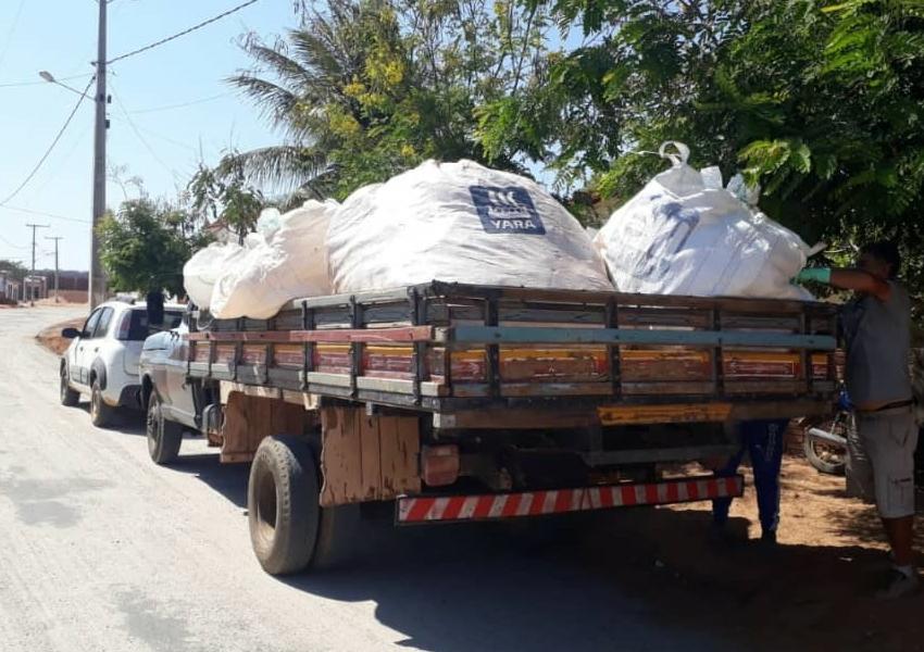 Recolhimento de embalagens de agrotóxicos aconteceu em Livramento