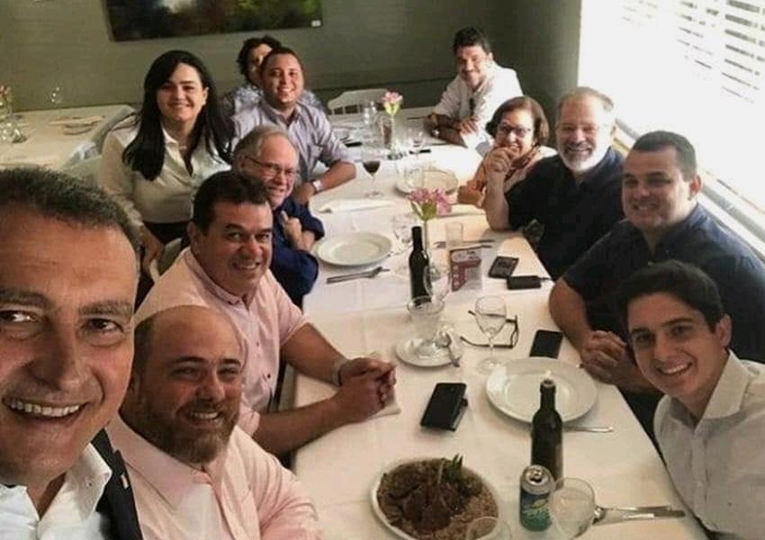 Deputado Marquinho Viana participa de almoço da Executiva do PSB
