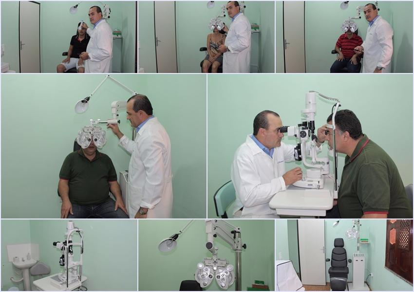 Livramento: Policlínica Dr. Edílson pontes inicia atendimento com oftalmologia