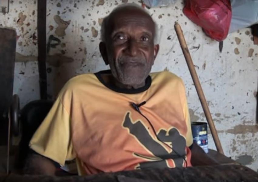 """Luto: Morre """"Seu Vila"""" último fabricante de arreio artesanal de Livramento"""