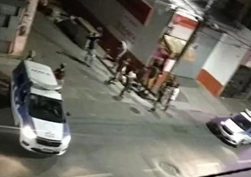Ataque a tiros deixa 05 mortos e 18 feridos em festa de paredão em Salvador