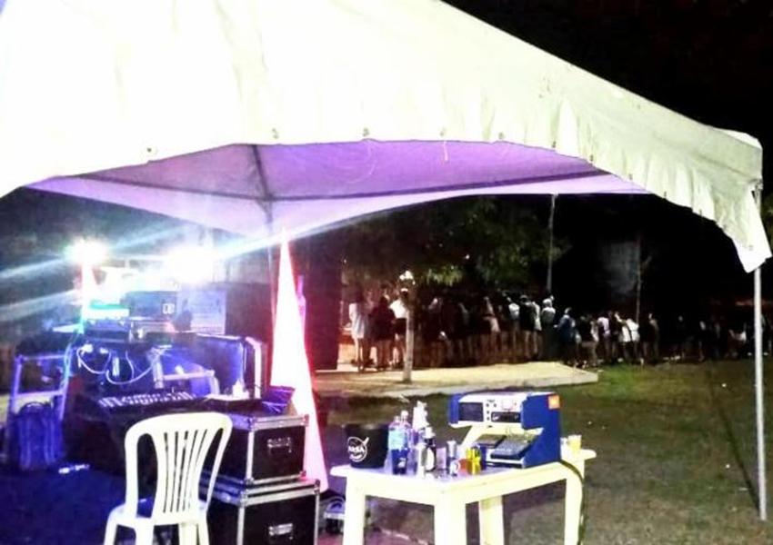 Polícia encerra 'Brega Fest' com 250 pessoas em Vitória da Conquista