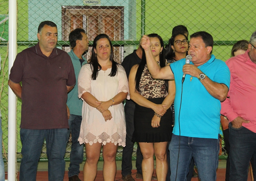 Prefeitura de Livramento inaugura Quadra Poliesportiva na Escola Municipal Polivalente; veja vídeo